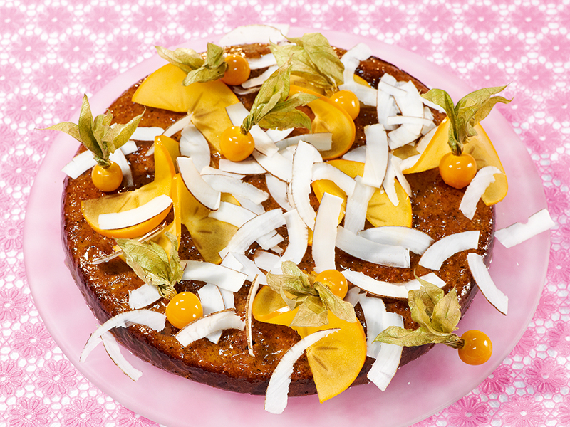 Gluckskuchen Mit Viel Frucht