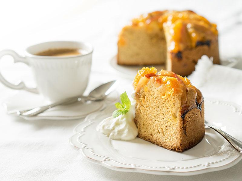 Orangen Apfel Kuchen